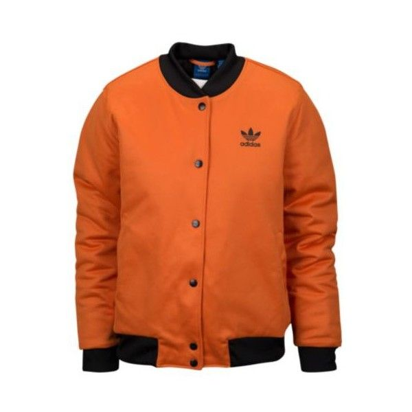 adidas Orange Black Track 3 Stripe Jacket Men's L