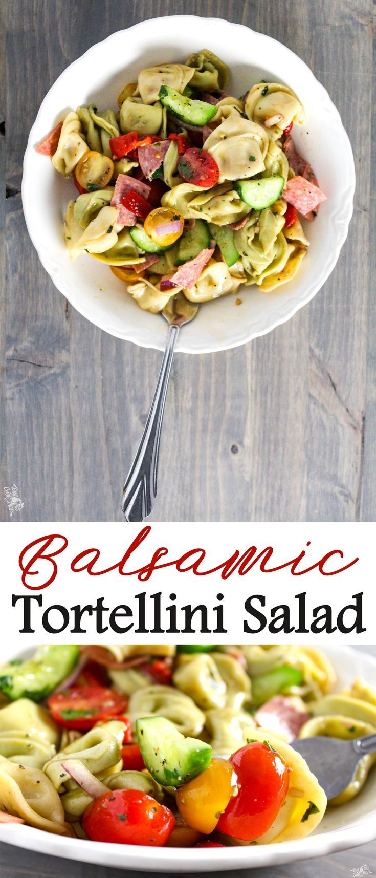 If You Like Pasta Salad Will L O V E Love Balsamic Tortellini This Fast