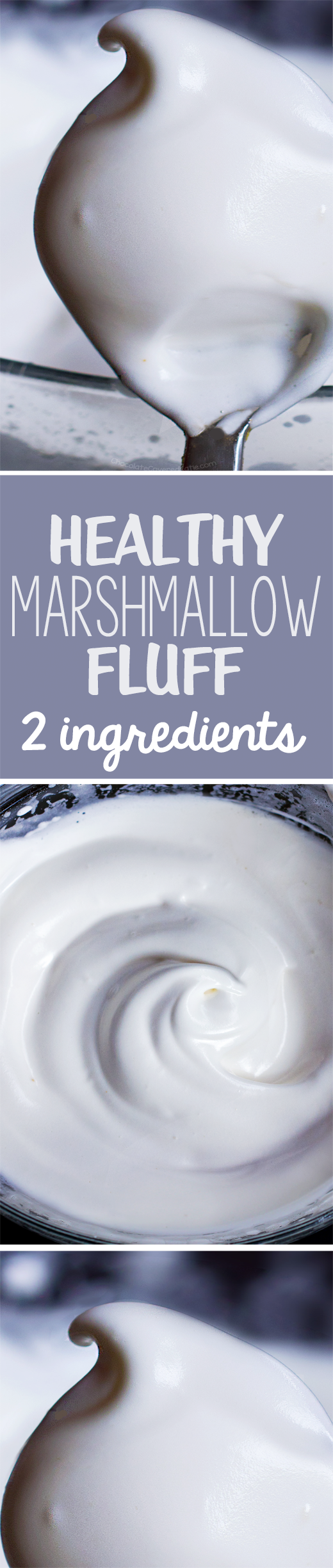 5 minutes + 2 ingredients = the most amazing healthy marshmallow fluff recipe, and it's vegan with aquafaba #veganmarshmallows 5 minutes + 2 ingredients = the most amazing healthy marshmallow fluff recipe, and it's vegan with aquafaba #healthymarshmallows