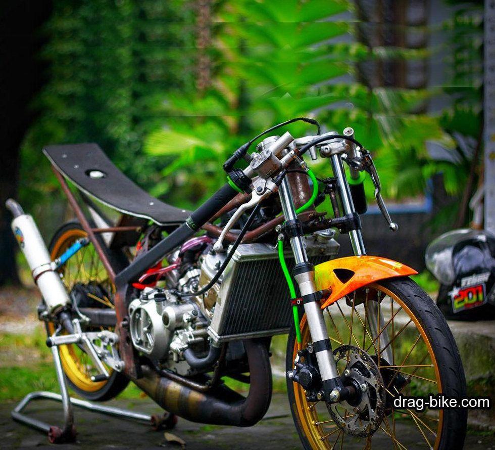 Modifikasi Ninja R Drag Bike Tercepat Ninja Gambar Kawasaki Ninja