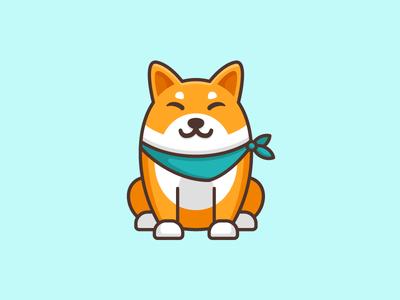 Shiba Inu Dog Opt 3 Anime Puppy Shiba Inu Dog Cute Animal Illustration
