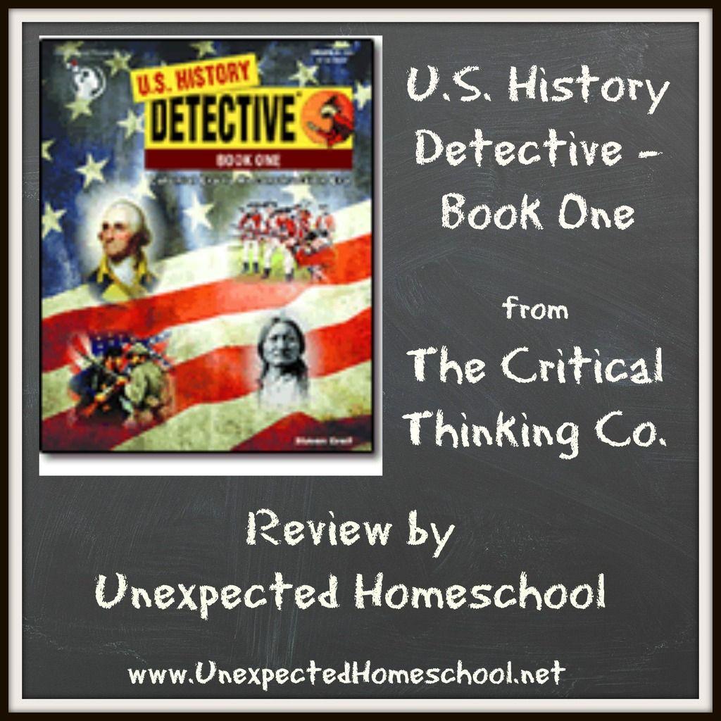 Unexpected Homeschool Review U S History Detective Book