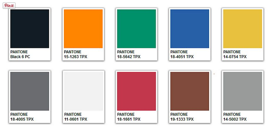 Pantone Winter 2017 Color Story Trends 2016fall