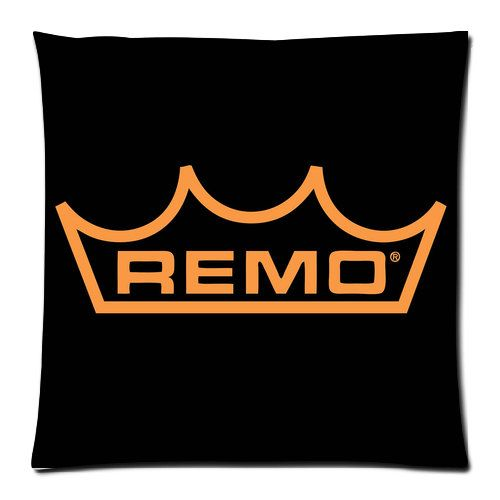 Remo Drumhead Rock Square Pillow Cushion Cover Case by PimpMyCases, $14.50