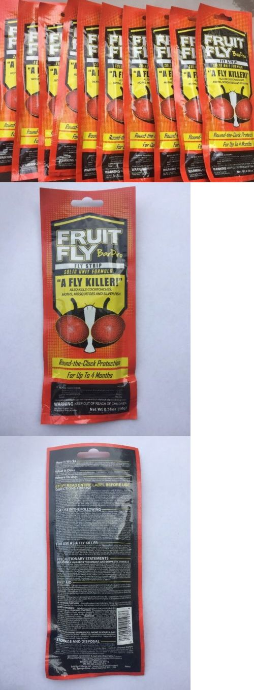 Other Weed And Pest Control 50365 10 Pack Fruit Fly Bar Pro Buy