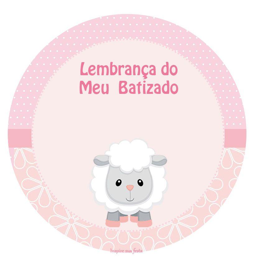 Ovelhinha Meninas Kit Festa Infantil Gratis Para Imprimir