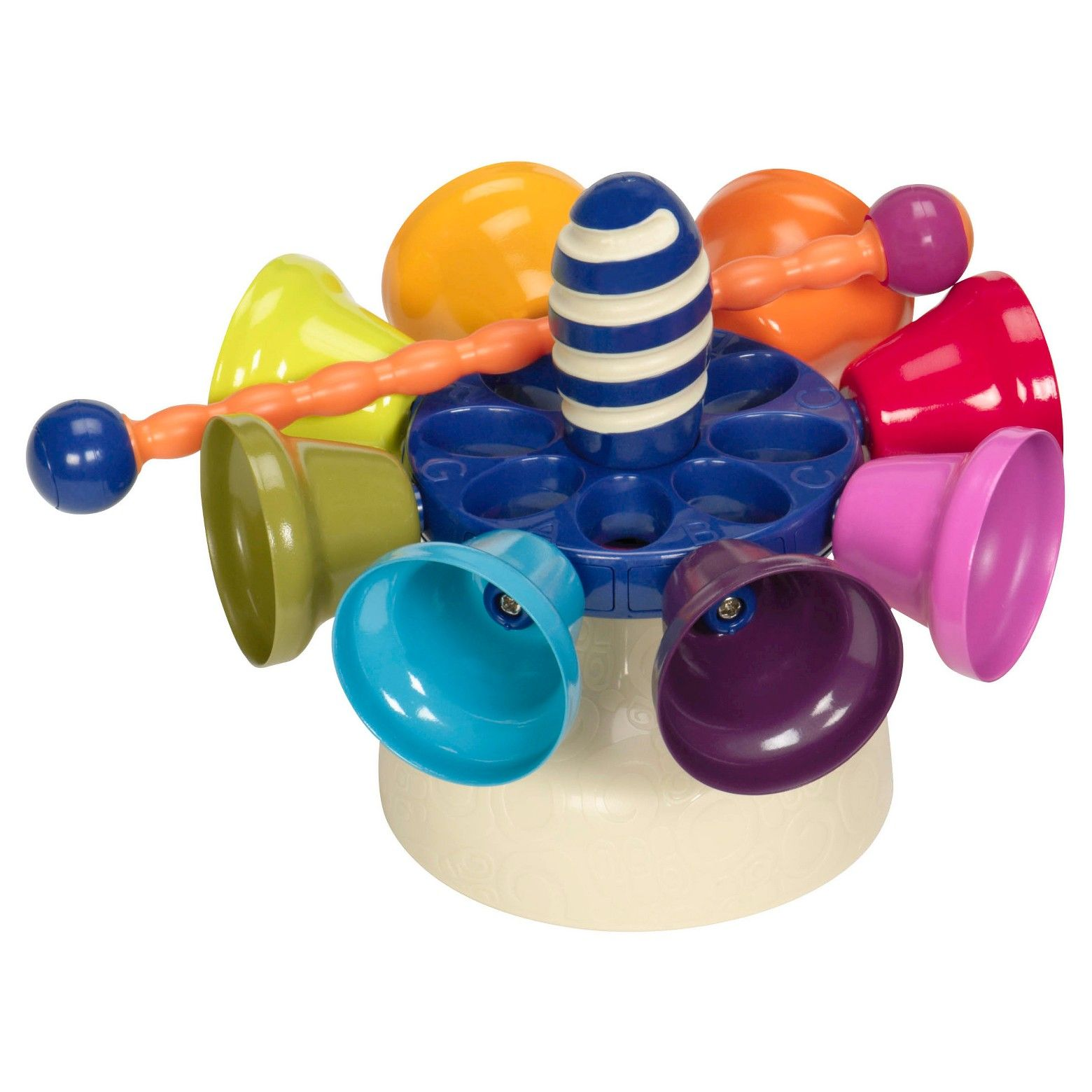 B toys Carousel Bells Toy Drums and Percussion  Owenus Wish List