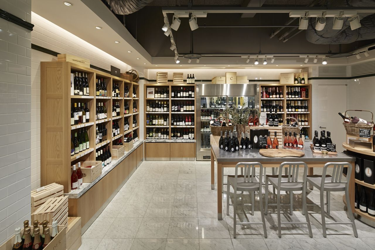 Dean deluca fukuoka wonderwall retail interior