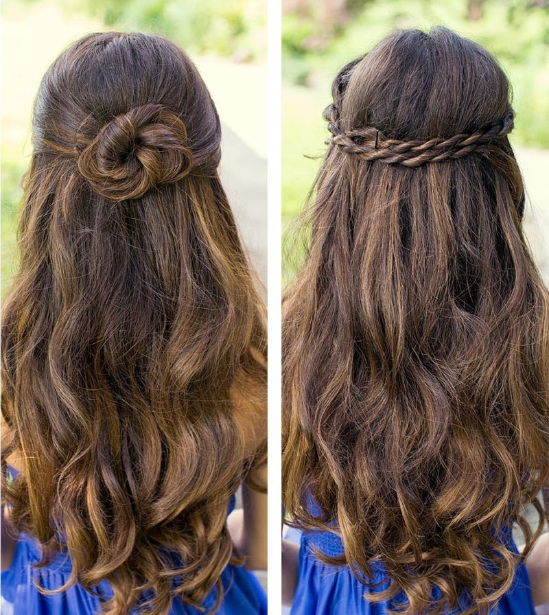 Glorious Simple Hairstyles Fashionfa Open Hairstyles Graduation Hairstyles For Long Hair Simple Prom Hair
