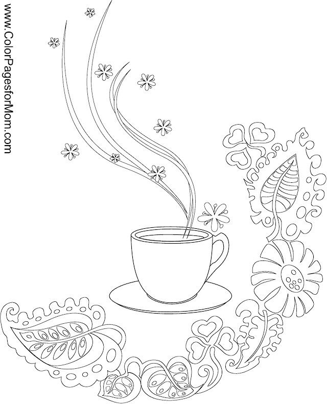 Pics For Gt Coffee Beans Coloring Page
