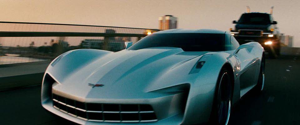 "2009 Chevrolet corvette stingray concept in ""Transformers"""