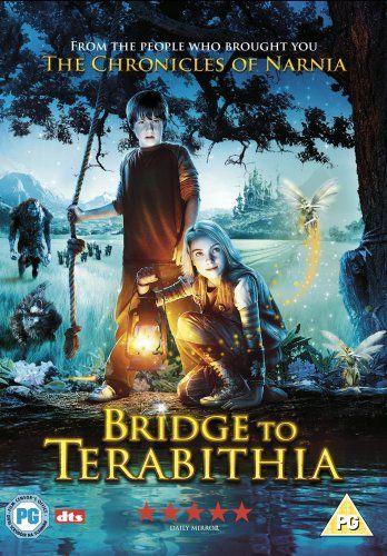 Bridge To Terabithia Dvd Puente Hacia Terabithia Mundo Magico De Terabithia Películas De Aventuras