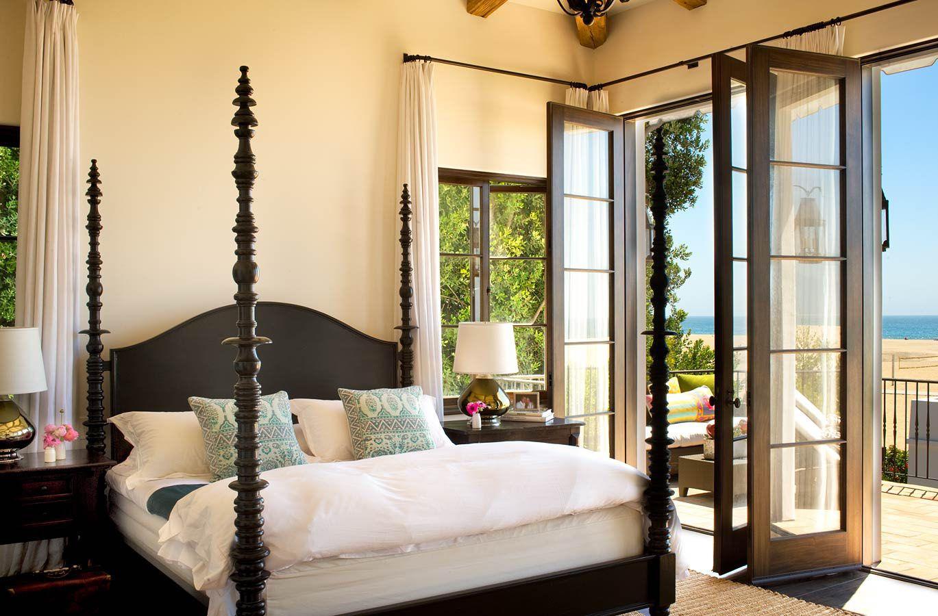 Spanish Colonial Beach House In Santa Monica | Interior Design,  Architecture U0026 Interior Decorating |