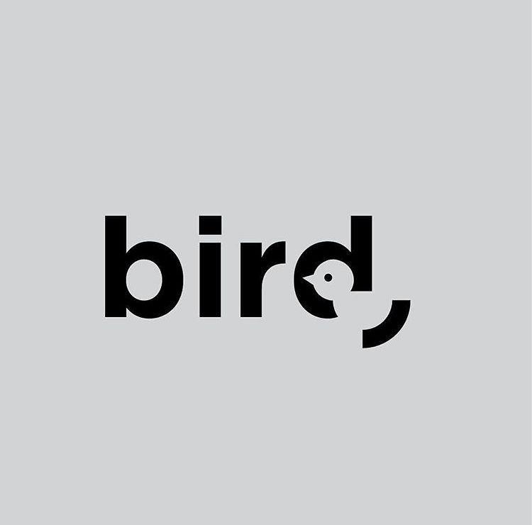 Bird by @danielcarlmatz from @thedesigntalks portfolio on instagram. #logodesign #designer #digital