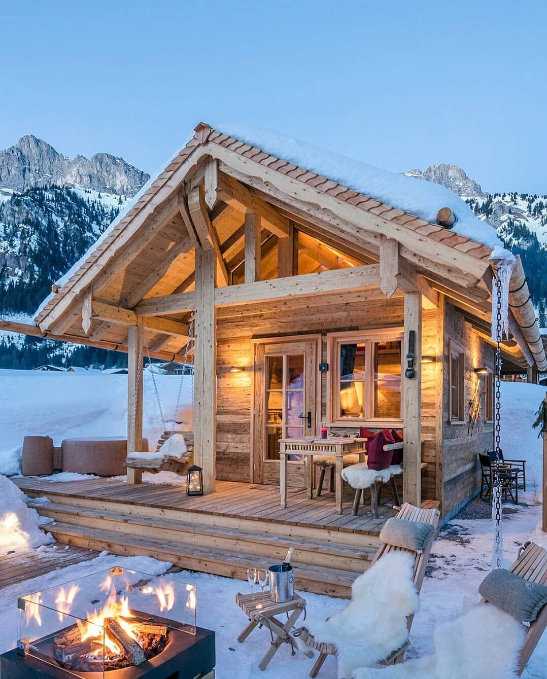 Chalet on instagram  cthanks to rustic houses for such  nice rusticdecor rusticchalet chaletdesign logcabin loghome mountainliving    also the best tiny house ideas pinterest cabin rh