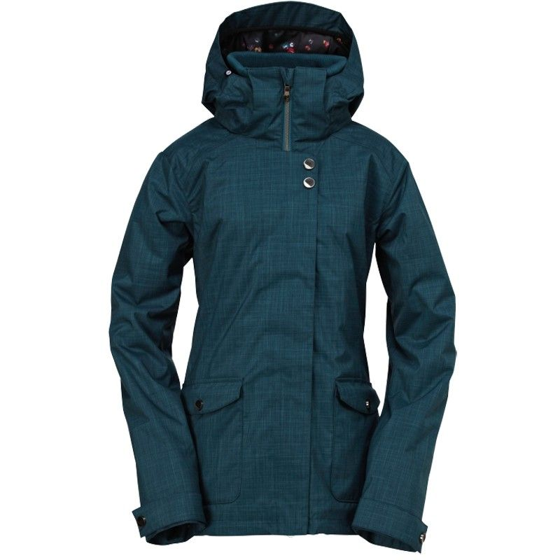 Roxy Womens Snowboard Jacket Raven 8k Insulated Snow