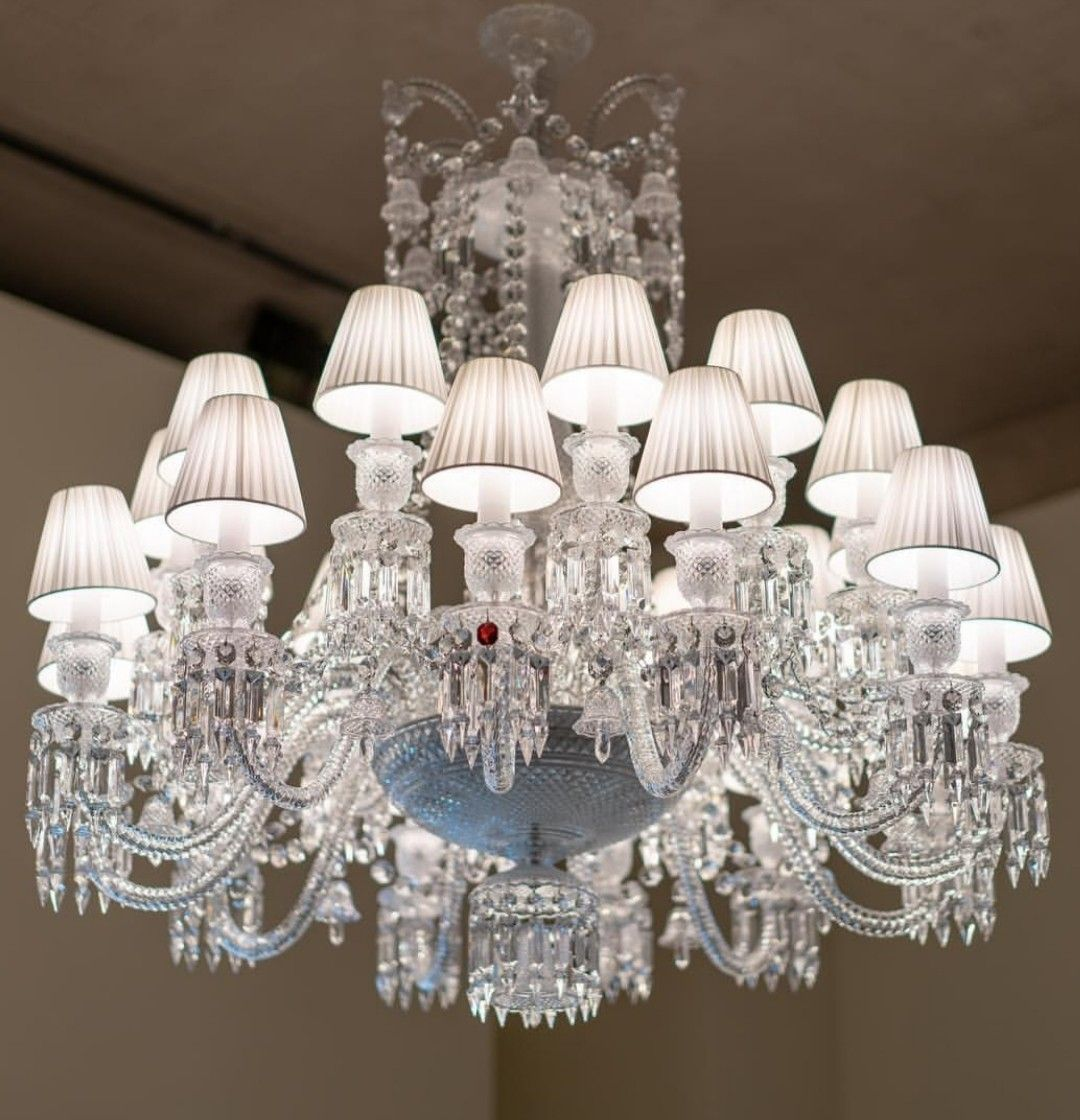 Pin By Sadery Garcia Sabater On Lighting Baccarat Chandelier Chandelier Ceiling Lights