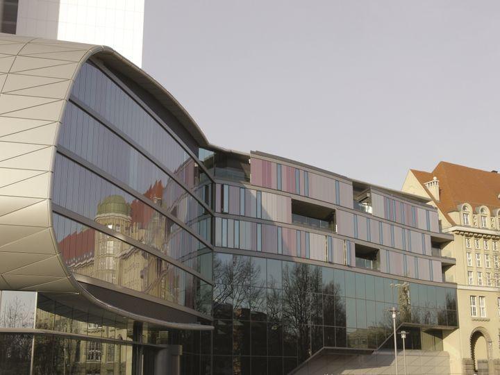 Enlargement National German Library by Gabriele Glöckler ...