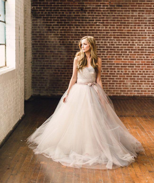 Best 25+ Tulle Wedding Dresses Ideas On Pinterest