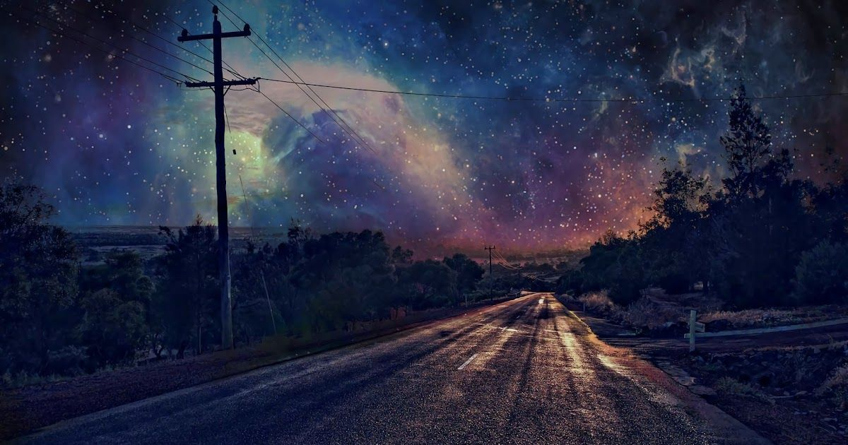 Beautiful Night View Background View Wallpaper Pretty Backgrounds Views
