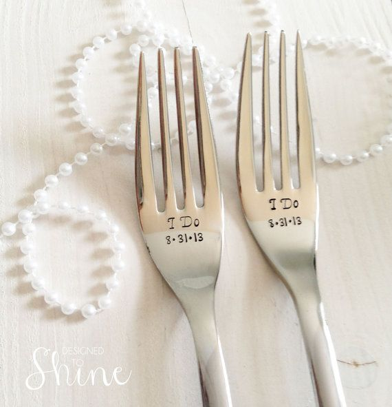 Silverware Wedding Gifts: Personalized Silverware By