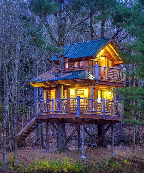Luxury Tree Houses Designs: En El Bosque, Una Casa En La Que Deseo Vivir.