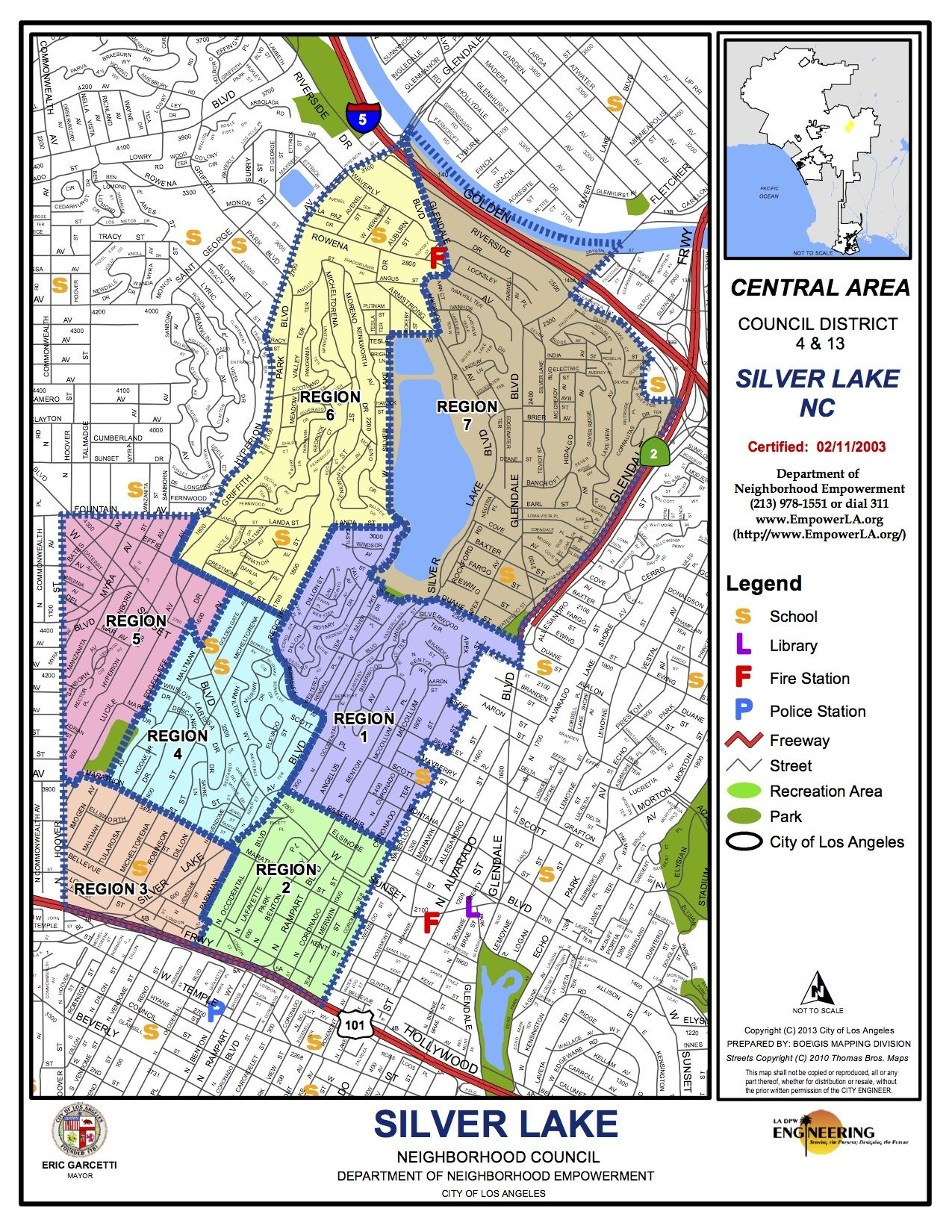 Silverlake Los Angeles Map.Map Of Silver Lake Wildwoods 5th Annual Wine Tasting And Silent