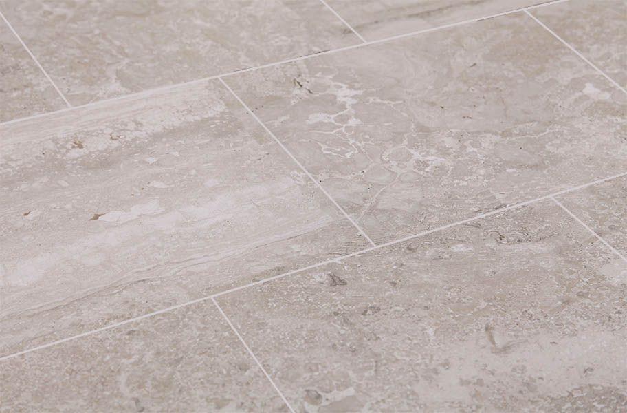 Daltile Exquisite Master bath tile, Stained concrete