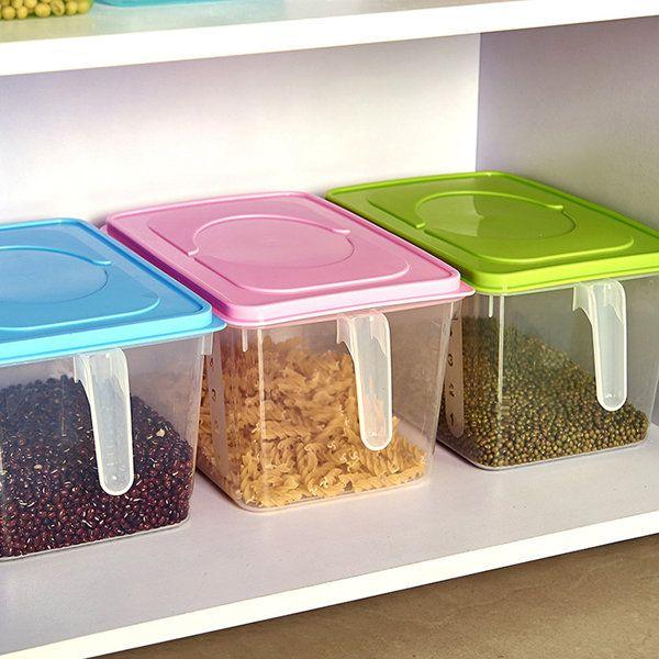Conveniente para almacenar los alimentos del refrigerador, organizar los alimentos