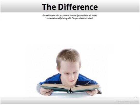 Child reading powerpoint template free education template child reading powerpoint template free education template toneelgroepblik Images