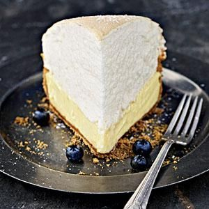 Tequila-Key Lime Meringue Pie - A luscious Key lime custard gets its kick from a splash of tequila. Southern Living