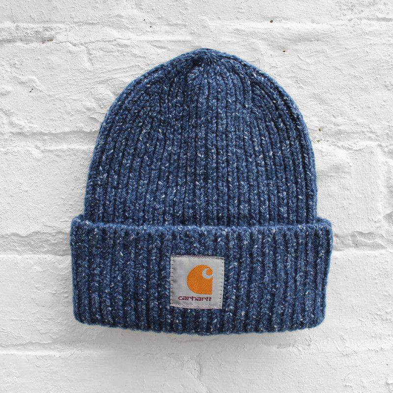 Carhartt Anglistic Beanie - Blue Heather - £34.99  1d85b41218b6