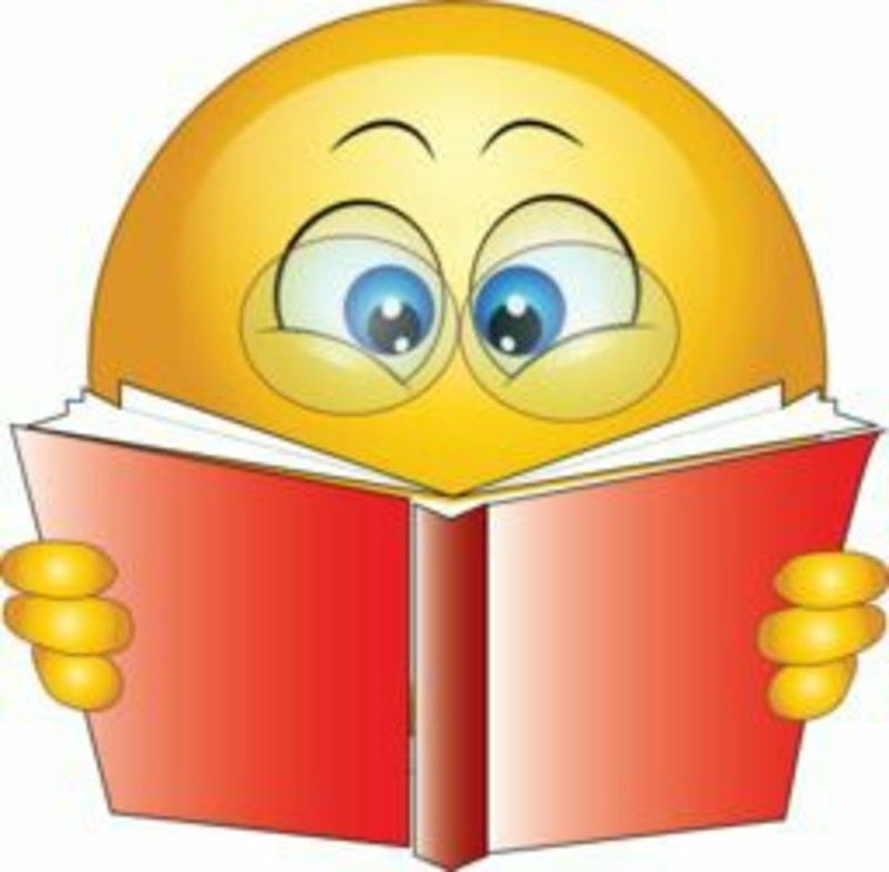 Leggo un libro immagini emoticon sorrisi WhatsApp | Emoticon ...