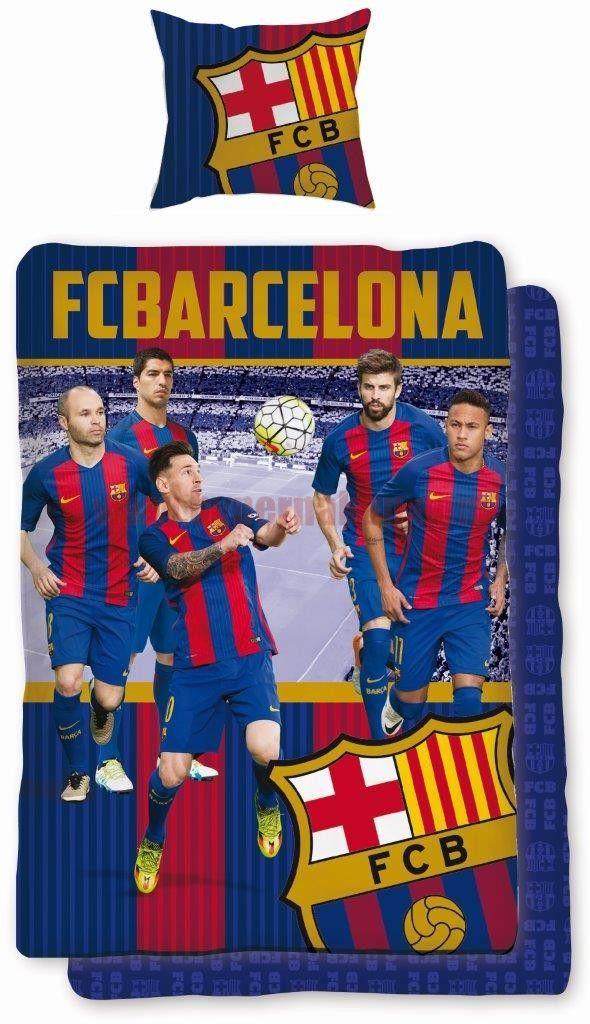 ce360822d06c8 Bavlnené obliečky FC Barcelona 169   BYTOVÝ TEXTIL   Fc barcelona ...
