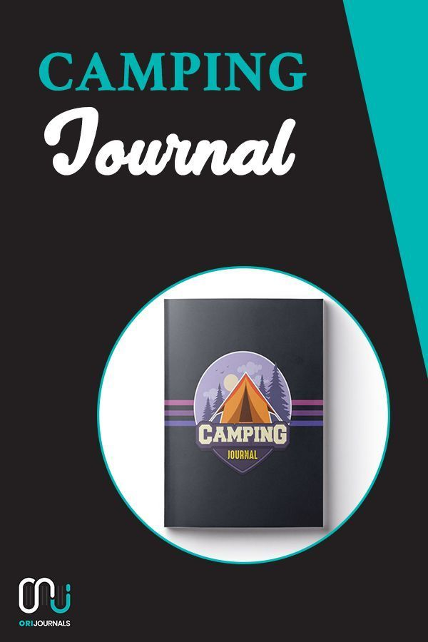 Camping Journal: ~ Camping Travel Journal for Campers (Camping Badge Edition V5)! Blogging for begi