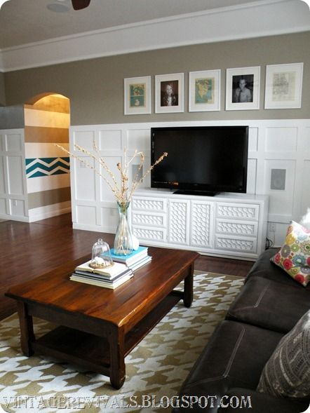 How To Install Board And Batten Living Rooms