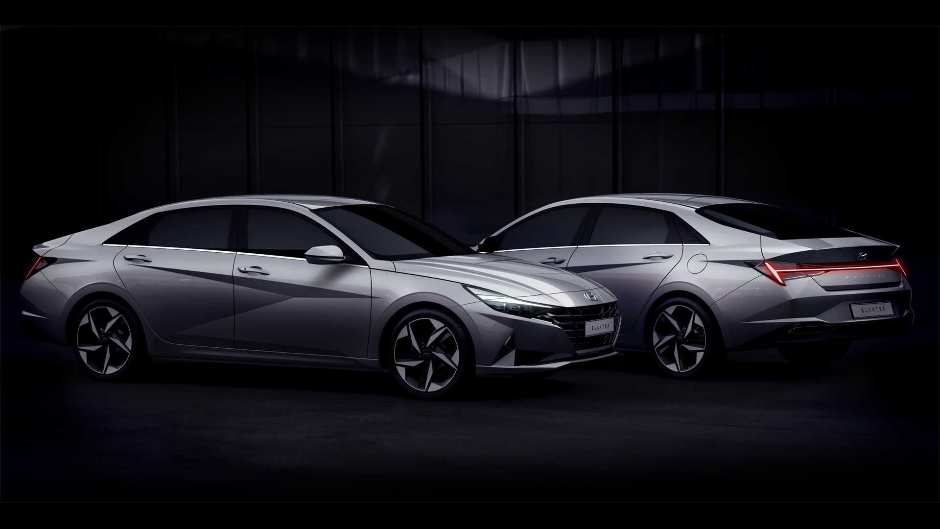 2021 Hyundai Elantra Debuts With Bigger Size Upmarket Tech Hyundai Elantra Elantra Hyundai