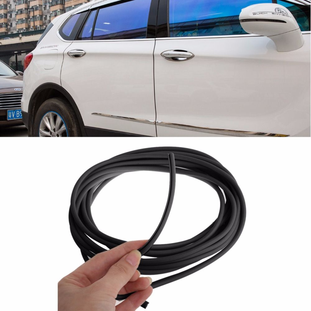 New Car Door Anti Collision Side Door Edge Guard Rubber Bumper Protection Sticker Strip Decoration 5m Car Bumper Protection Exterior Accessories Buying New Car