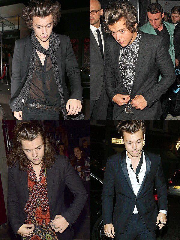 Pin By Styles Orama On 1d Harry Styles Fancy Black Suit