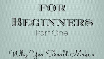 Budgeting for Beginners: Part One