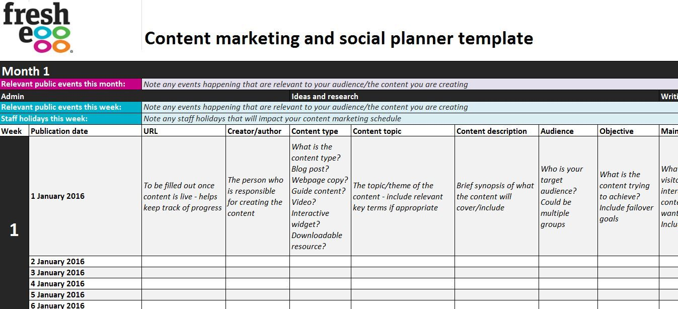 Content Marketing Plan | 6 Steps To Creating A Content Marketing And Social Plan And Why You