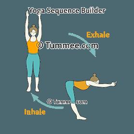 upward forward fold pose flow yoga ardha uttanasana