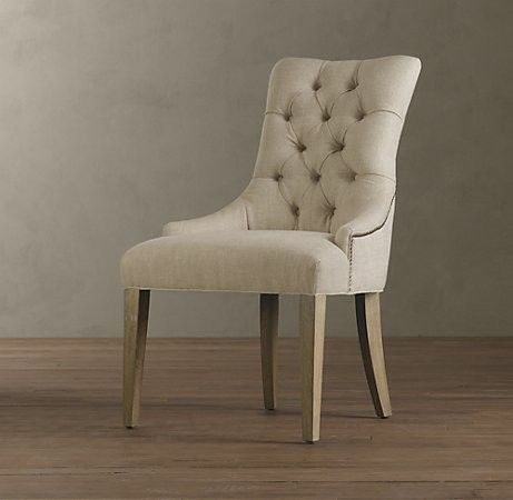 Arm Chair Dining Room Enchanting Martine Upholstered Armchair  Dining Chairs  Traditional Decorating Design