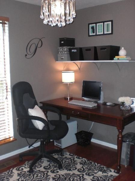 Nice, Easy To Create Home Office Staging. Keeping It Neat And Clutter Free. Office  Paint ColorsBedroom ...