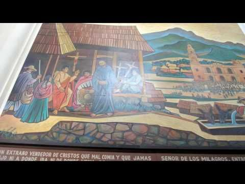 Bello Santuario del Señor de los Milagros de San Juan Parangaricutiro, M...