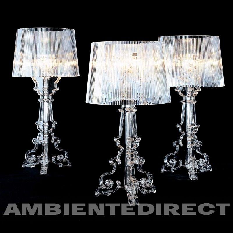 Kartell Bourgie Crystal Lampen Er En Moderne Barokk Design Av