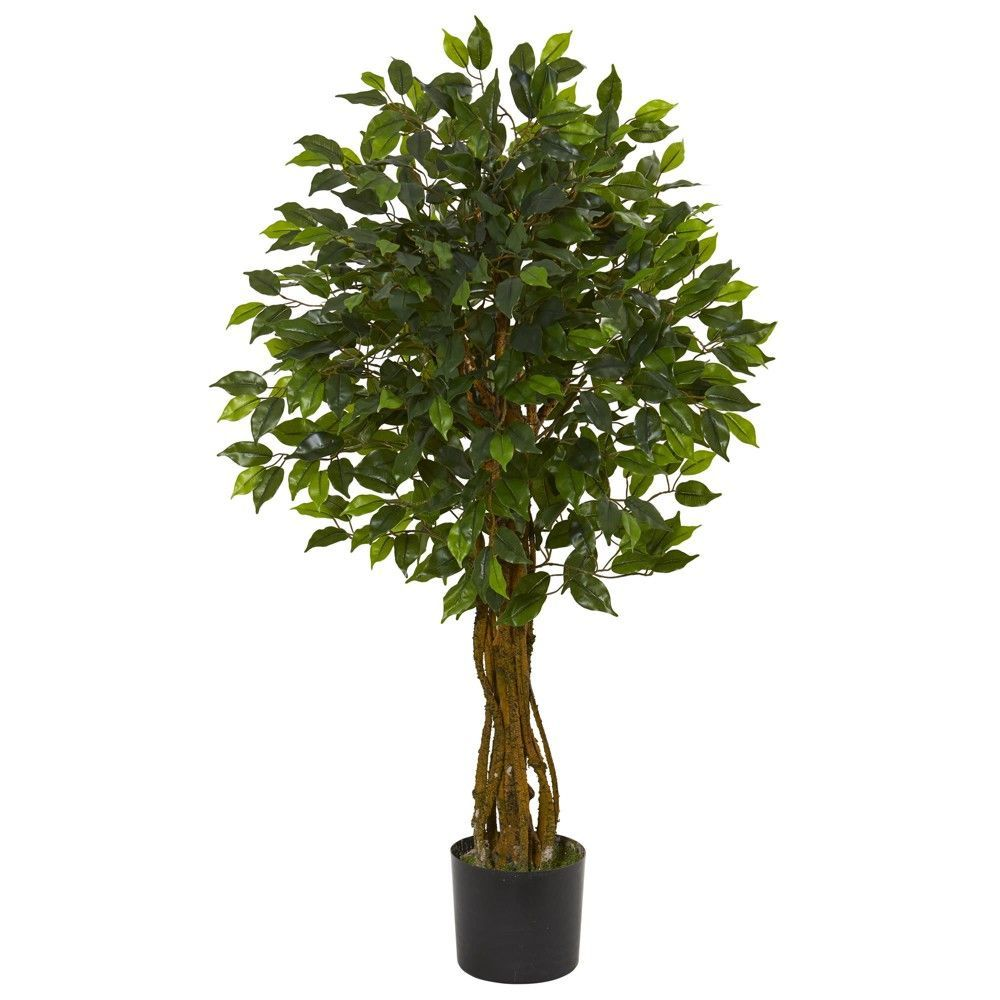 Ft ficus artificial tree nearly natural green