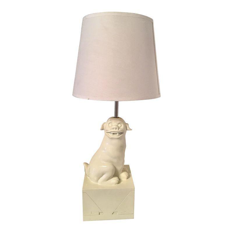 Jonathan Adler Foo Dog Table Lamp Dog Table Lamp Foo Dog