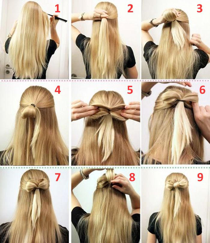 10 Quick And Easy Hairstyles Step By Step Medium Hair Styles Hair Styles Open Hairstyles