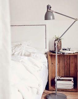 Idee fai da te per la camera da letto - I comodini... | www ...